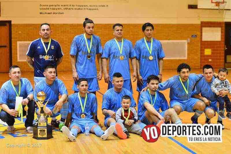 Barcelona campeon Liga Club Deportivo Checa torneo del sabado
