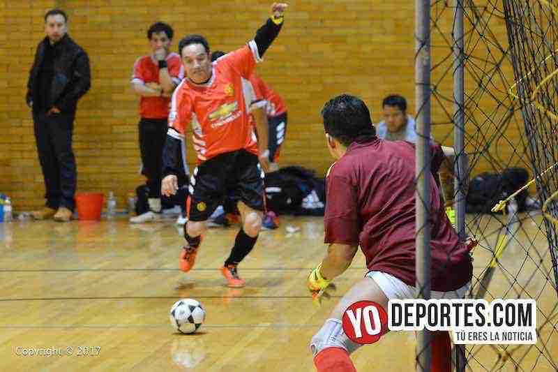 Barcelona contra Las Aguilas-Liga Club Deportivo Checa-final sabado