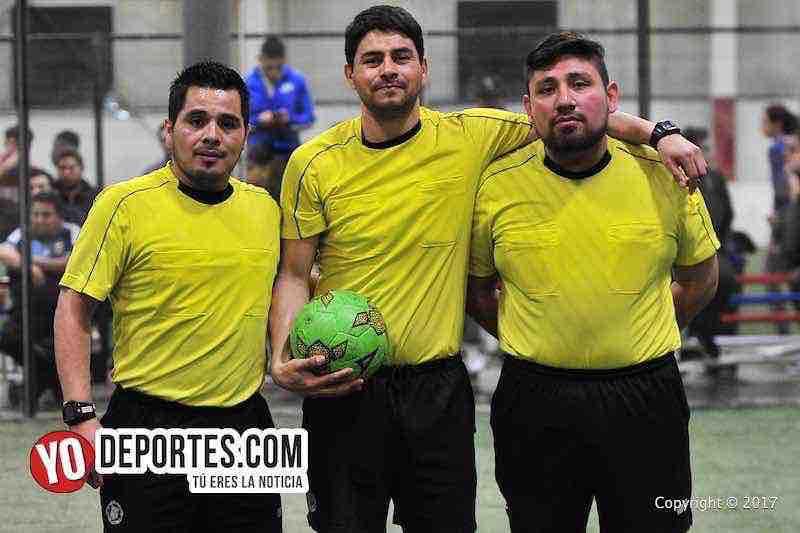 Arbitros Antonio Lopez-Manuel Duron-Gio Gonzalez