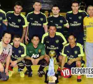 El Arsenal se corona campeón de la Liga San José