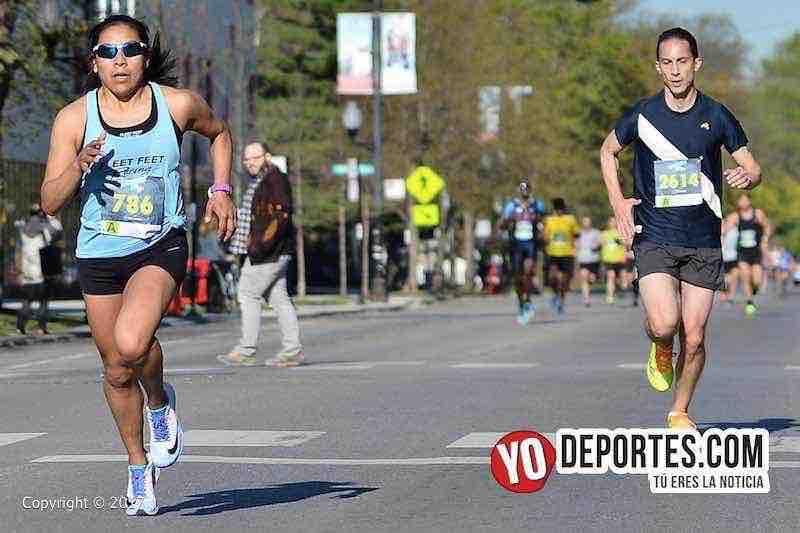 Columba Montes-Chicago Ravenswood 5K Run