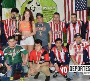 Ixcapuzalco campeón de los jueves en 5 de Mayo Soccer League