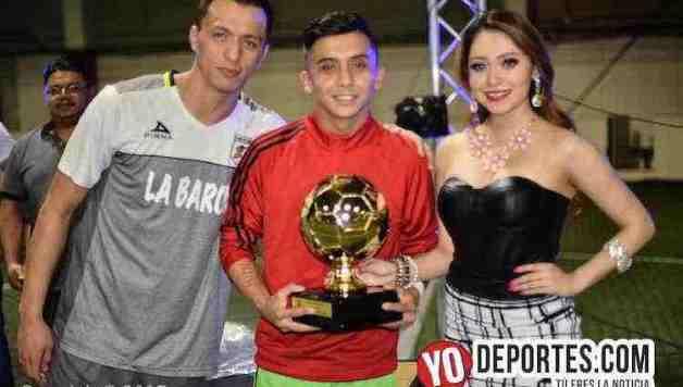 Tadeo González gana Balón de Oro de la Liga Latinoamericana