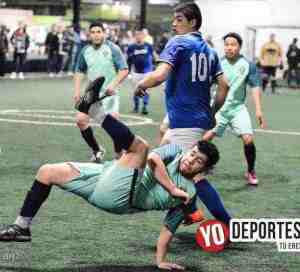 La Mangana eliminó a La Juve en Fuerza Latina Soccer League