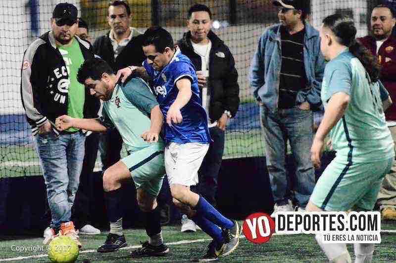 La Juve-La Mangana-semifinal de Fuerza Latina Soccer League