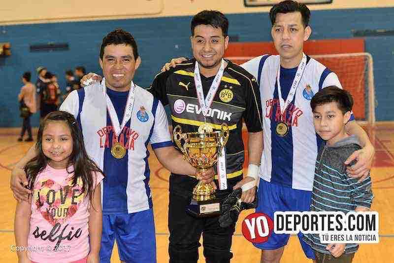 La Raza campeones-Pumas-Liga MC de Chicago