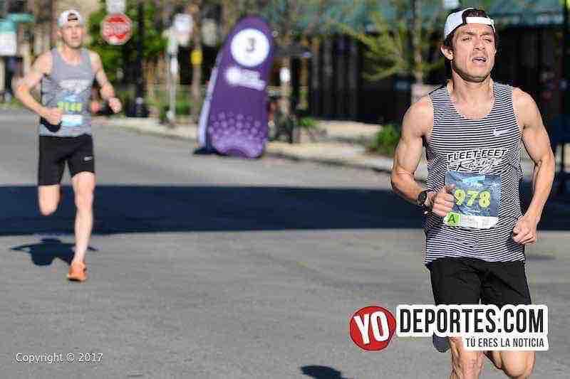 Lionel Montenegro-Chicago Ravenswood 5K Run