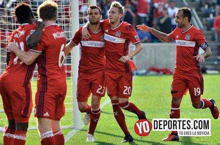 Nemanja Nicolic-Chicago Fire 3-0 England Revolution