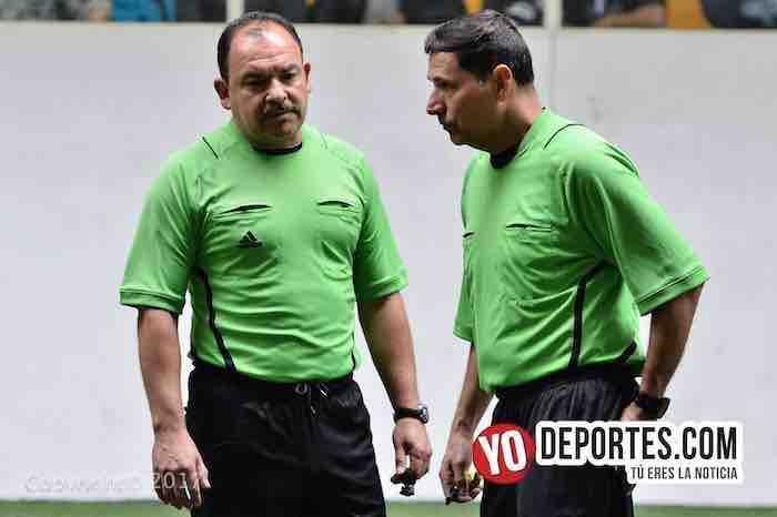 Tilza Morelos contra CD Fenix final-arbitros