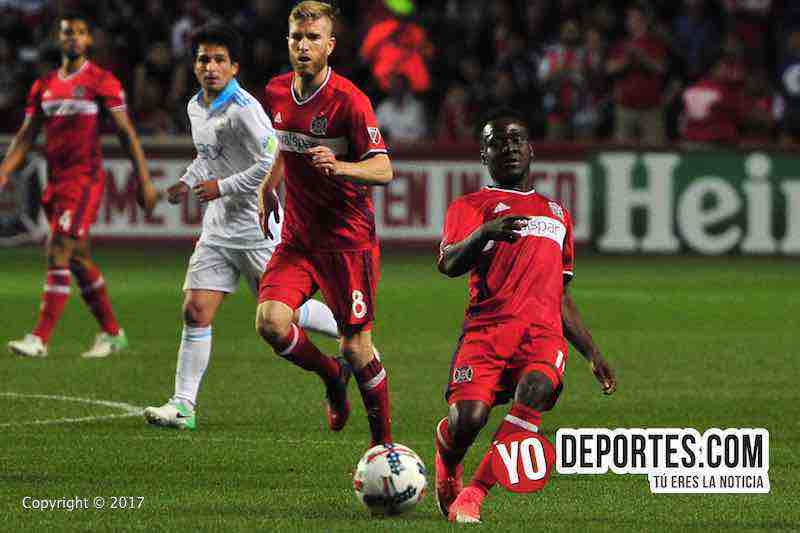 David Accam-Chicago Fire 4-1 Seattle Sounders FC