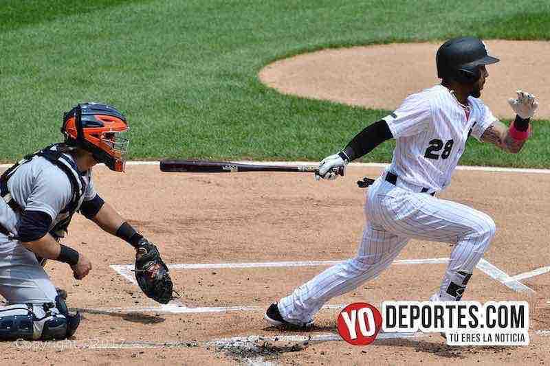 Leury Garcia-White Sox-Tigres Detroit
