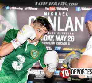 El irlandés Michael Conlan ya entrena en Chicago