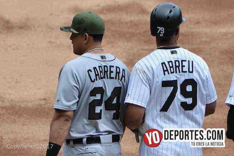 Miguel Cabrera-Jose Abreu-White Sox-Tigres Detroit