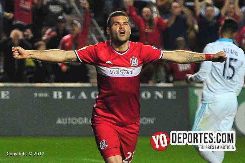 Nemanja Nikolic-Chicago Fire 4-1 Seattle Sounders FC