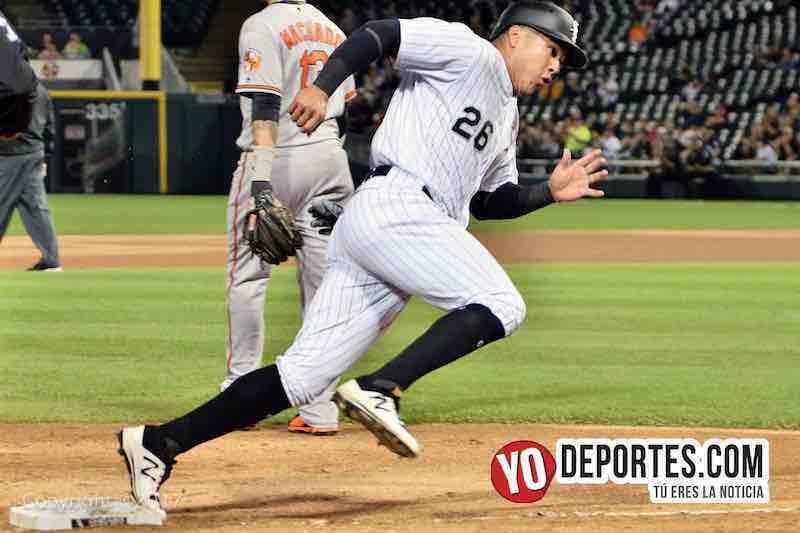 Avail Garcia Medias Blancas de Chicago contra Orioles de Baltimore.