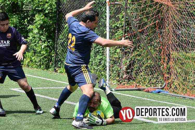 Champions League-Illinois International Soccer-Portero Ivan Nora