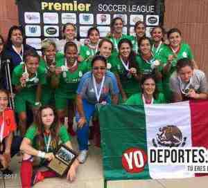 Ciudad de México campeonas del Torneo Internacional Premier en Chicago