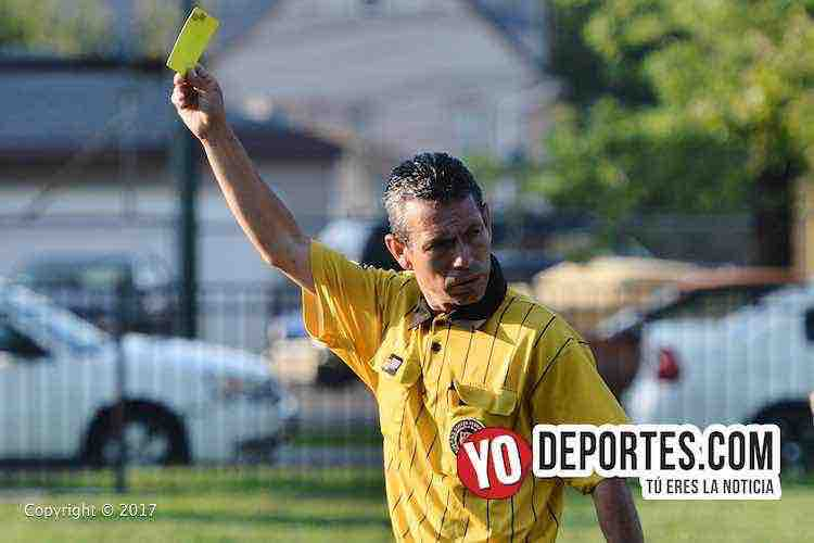 Arbitro-Fierro FC-Real Cuauhtemoc-Liga San Francisco