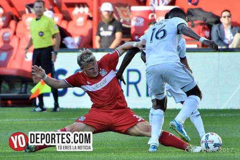Bastian Schweinsteiger-Chicago Fire-Vancouver White Caps