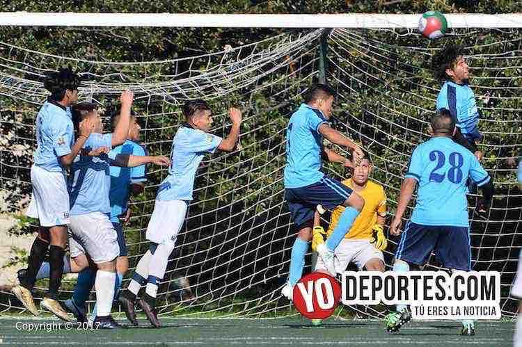 Fierro FC-Real Cuauhtemoc-Liga San Francisco-portero-soccer