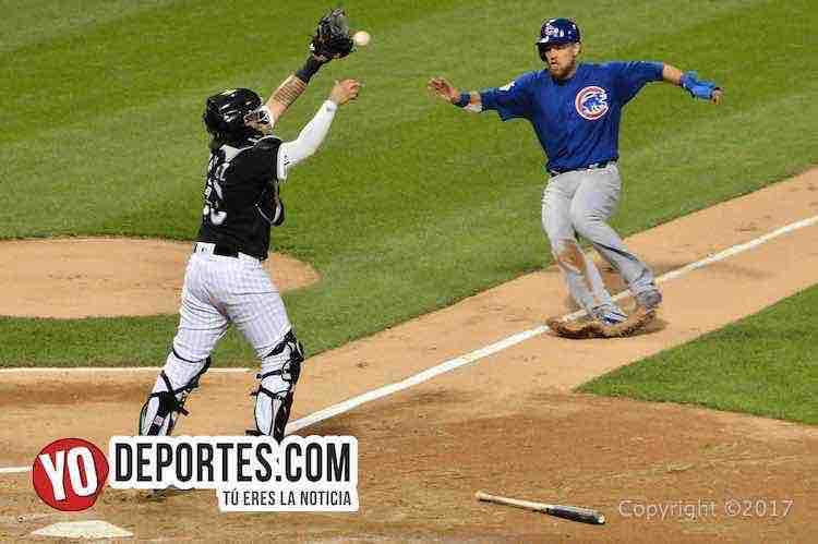 Omar Narvaez-Ben Zobrist-White Sox-Cubs-Crosstown Cup