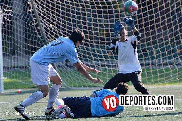 Portero-gol-Fierro FC-Real Cuauhtemoc-Liga San Francisco