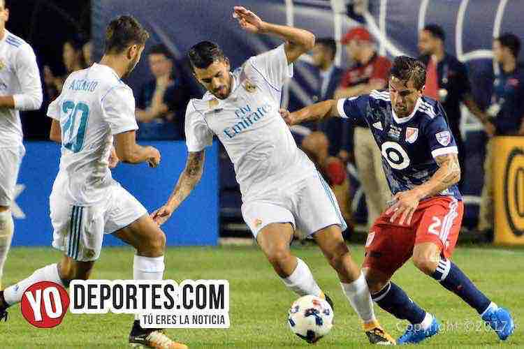 Hernan Grana–Real Madrid-MLS Allstar-Soldier Field