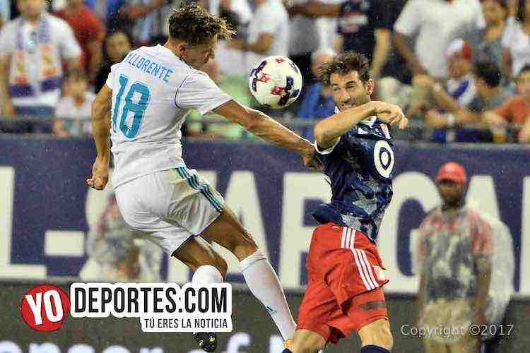 Marcos Llorente-Real Madrid-MLS Allstar-Soldier Field
