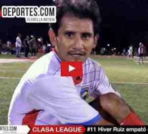 Real Celaya empata al Nacional con gol de Hiber Ruíz en CLASA