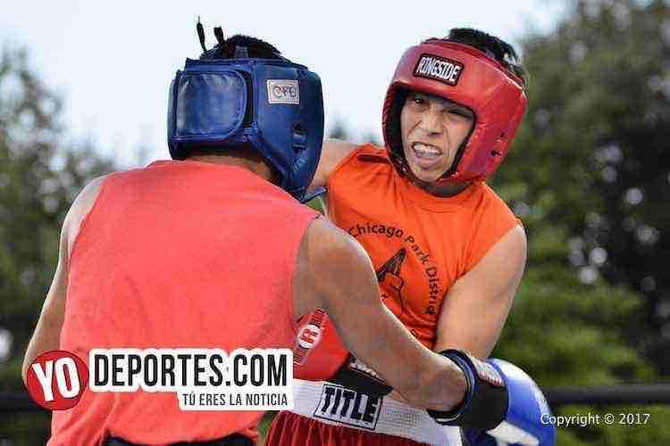 Xavier Luna-Adrian Rueda Harrison Park Boxing Show