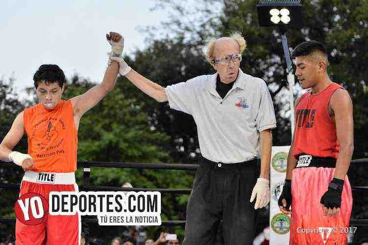 Xavier Luna-Adrian Rueda-Harrison Park Boxing