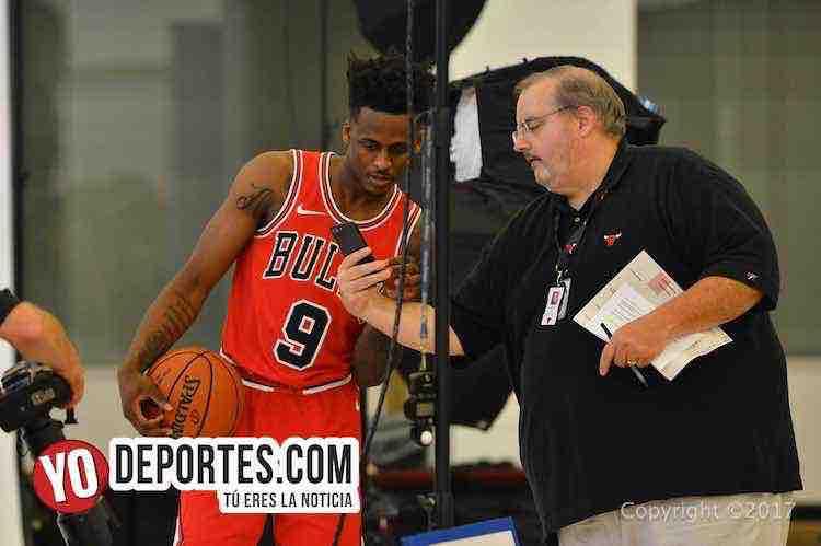 Antonio Blakeney-Chicago Bulls Media Day