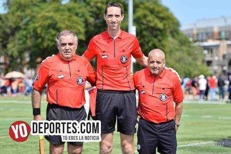 Arbitro Hugo Fregoso-Zach Richter-Gelacio Abarca-Morelia-Nacional-semifinal CLASA