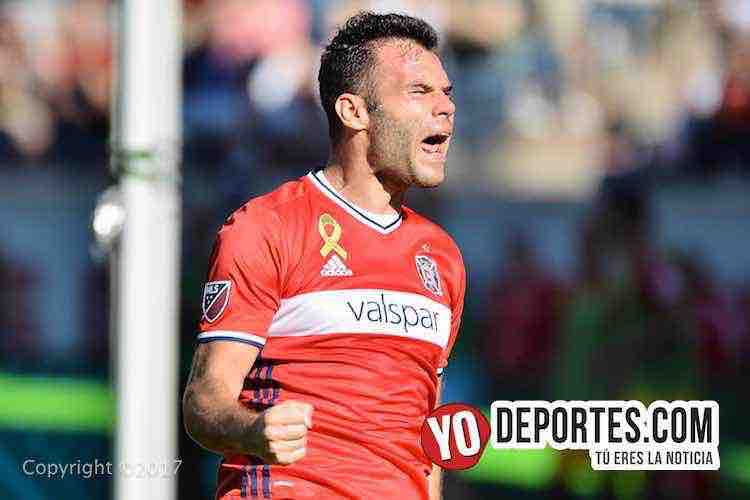 Nemanja Nikolic-Chicago Fire-Red Bulls-empate