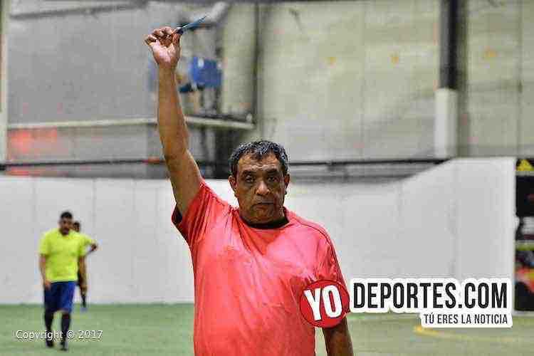 Arbitro Juan Jaramillo-Los Verdes-Galacticos-Liga Latinoamericana