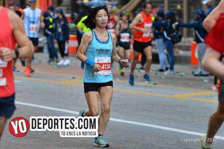 Kayoko Hamamura-Chicago Maraton 2017