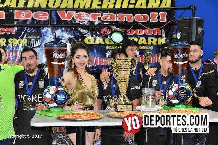 Los Verdes-Galacticos-Liga Latinoamericana campeones