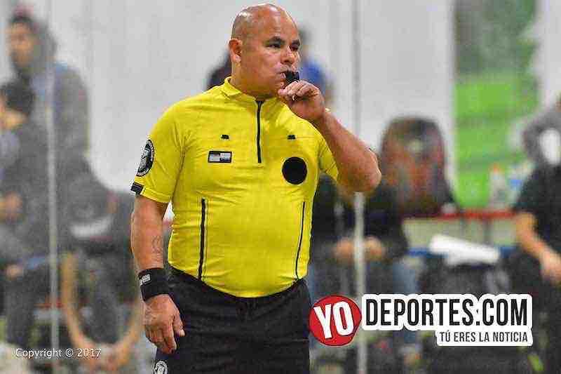 Arbitro Diego Rivera-Deportivo Monaco-Real Betis-Liga 5 de Mayo