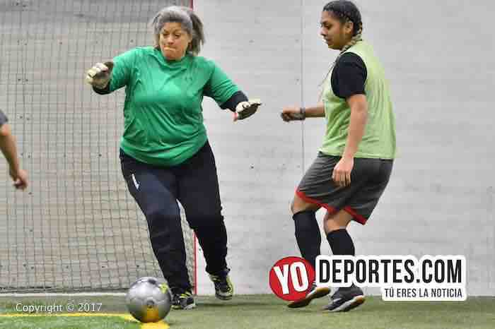 Deportivo DF-Real Betis-5 de Mayo Soccer League-portera futbol