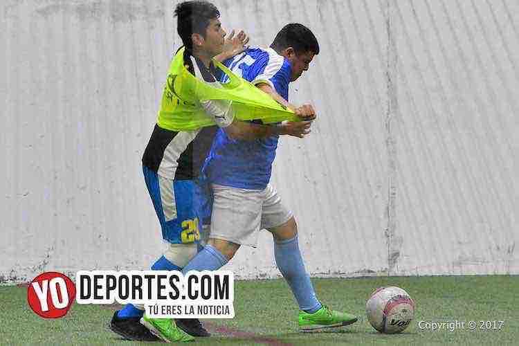 Juvenil Chicago-Depth FC-Liga 5 de Mayo-indoor soccer
