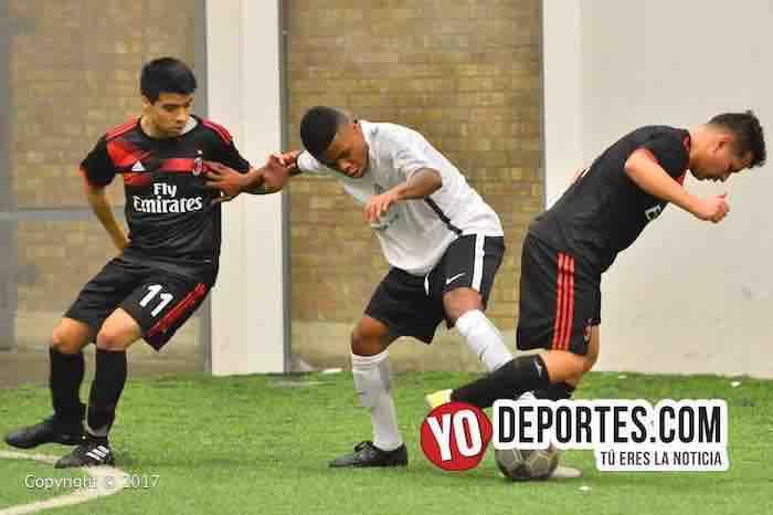 Milan-Deportivo 357-Liga Douglas-chicago soccer