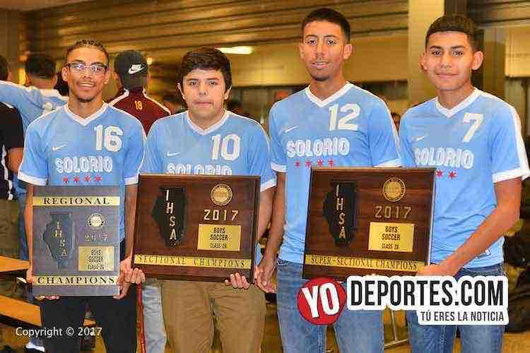 Ricardo Silva-Jose Solis-David Diaz-Alejandro Sanchez-Solorio Academy Illinois State Champions