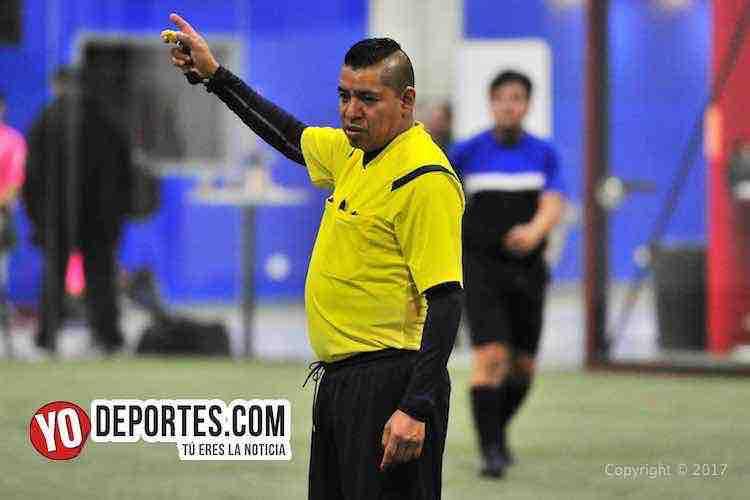 Arbitro-Toros San Jose-Desmadrid-5 de Mayo Soccer League