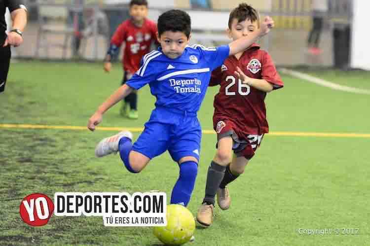 Deportivo 57-Tonalapa-Liga Douglas Infantil-futbol