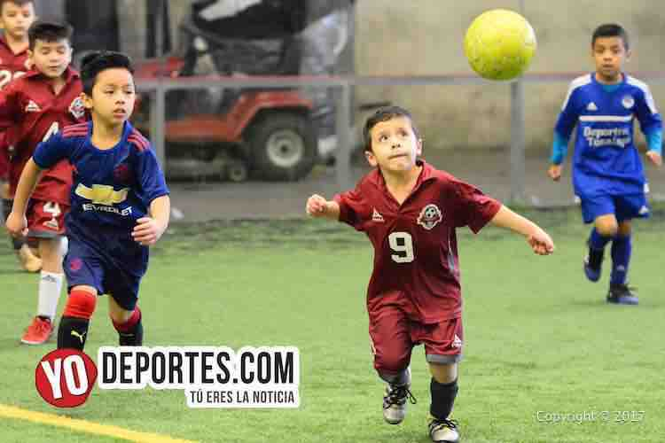 Deportivo 57-Tonalapa-Liga Douglas Infantil