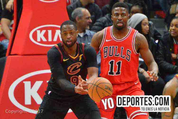 Dwyane Wade-David Nwaba-Chicago Bulls-Cleveland Cavaliers