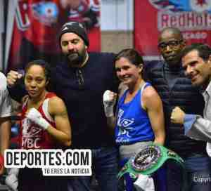 Maureeca Sue Lambert vs Dialika Perkins WBC Torneo Amateur