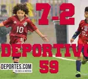 Así ganó el Deportivo 59 al Tonalapa en la Liga Douglas Infantil