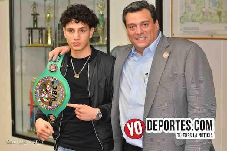 Rolando Vargas-Milwaukee-Mauricio Sulaiman-WBC-CMB-Torneo Amateur-Cicero Stadium