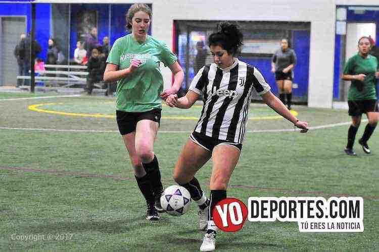 Arbirtro Enrique Reyes-Estrellas-Greenwood-AKD-Premier Academy Soccer League-mujeres futbolistas